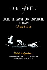 Cours de danse contemporaine Contr'pied rentrée